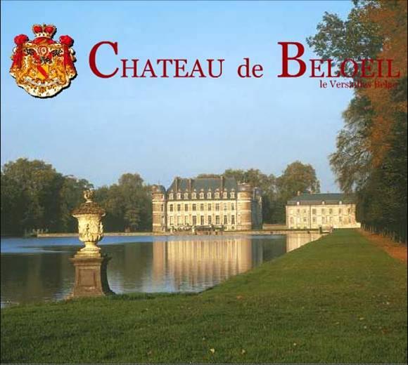 Ανθοδετική εκδήλωση στο Château de Beloeil, στο Βέλγιο